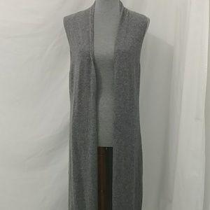 Nanette Lepore sleeveless cashmere cardigan